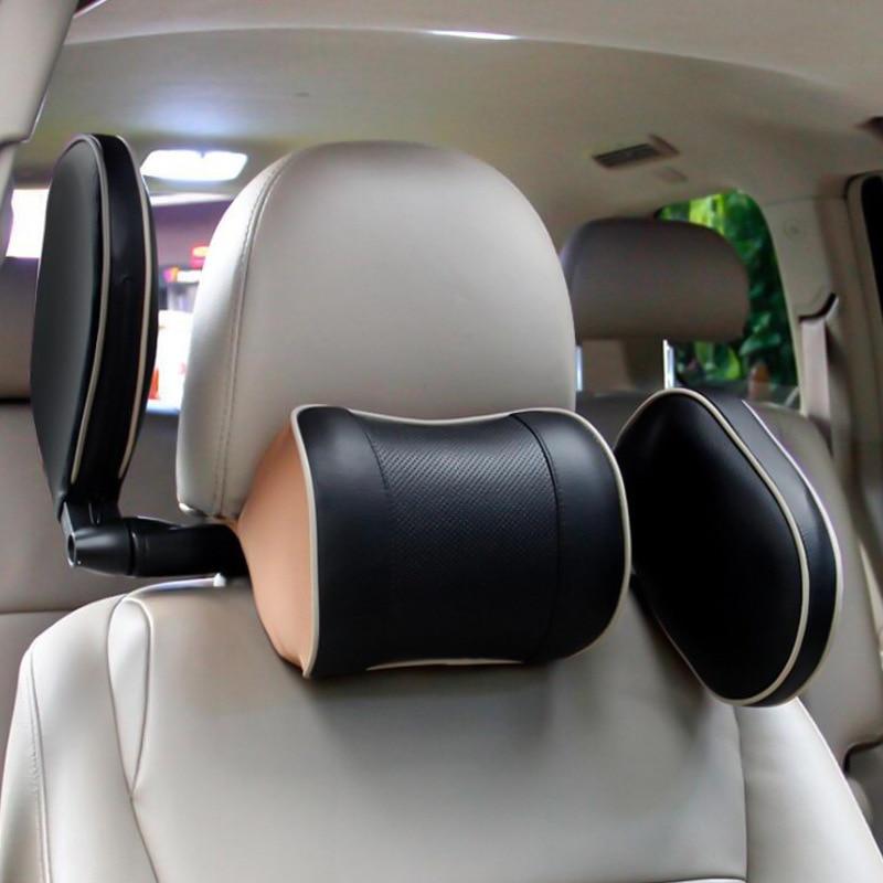 Coussin de siège Occipital à mémoire de forme | Chaise en coton, siège de voiture pour adultes et enfants, protection du cou Occipital