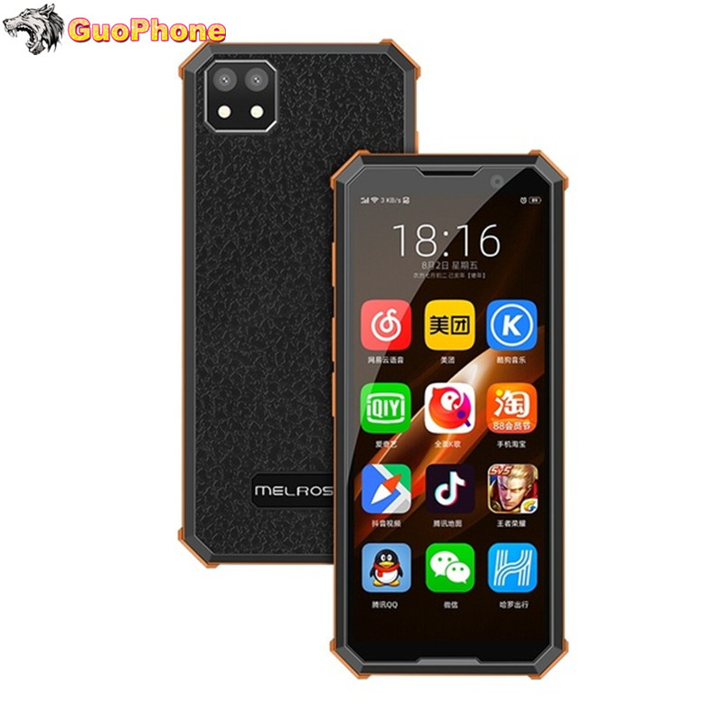 Super Mini Melrose 2019 END Smartphone 1GB/2GB 8GB/32GB 4G Lte 3.46'' MTK6739V Quad Core Android 8.1 Fingerprint Mobile Phone