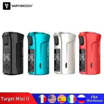 цена на Original Vaporesso Target Mini 2 50W Vape Box Mod Electronic Cigarette Fit 2000mAh Built-in Battery For Vapor 510 VM Tank 22