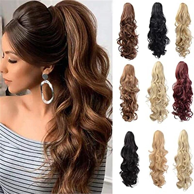 Синтетический термостойкий парик волос 130gr 24