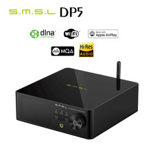 SMSL DP5 ES9038Pro MQA Full Decoding Network Music Player Streaming Playback DSD256 Banlanced Headphone AMP Bluetooth Player