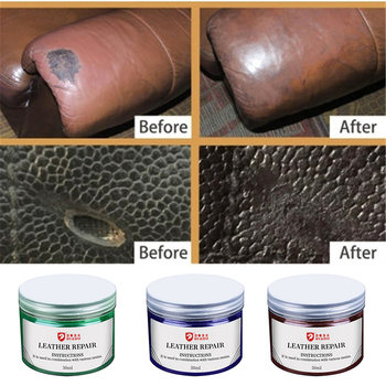 50ML Leather Repair Vinyl Cream For Auto Car Seat Sofa