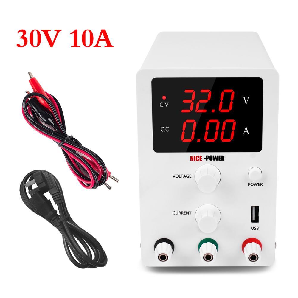 30V 10A laboratoire USB alimentation réglable laboratoire banc Source numérique universel commutation Fonte De Bancada interrupteur pouvoirs