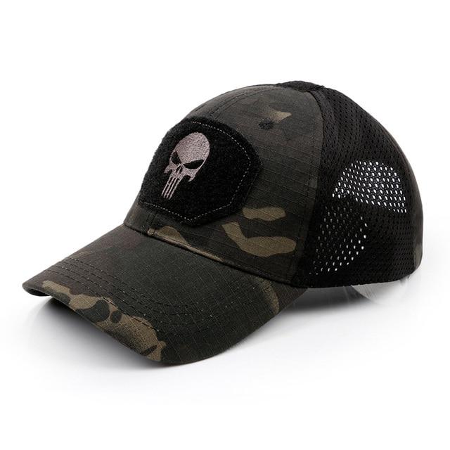 Tactical Military Airsoft baseball Cap army Hat Mesh Hunting Hiking Adjustable Breathable kxs12061 1