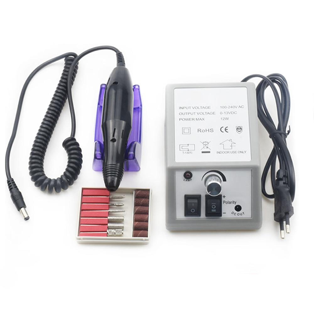 broca eletrica para unhas artisticas 20000rpm lixa para pedicure acessorio para pedicure kit com 6 brocas
