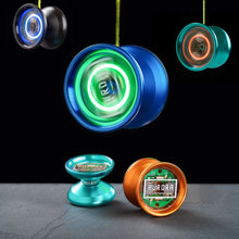 MAGICYOYO YoYo classic children's toy Aluminum Alloy Professional Yoyo Ball with LED Light  Cover Remover String for Kids Adult