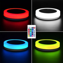 Swimming pool floating lights rgb led color change solar underwater