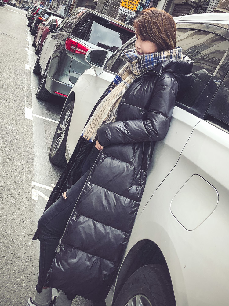 Women Clothes 2020 Winter Coat Women Duck Down Jacket Women Korean Puffer Jackets Long Coat Doudoune Femme Hiver MY1494