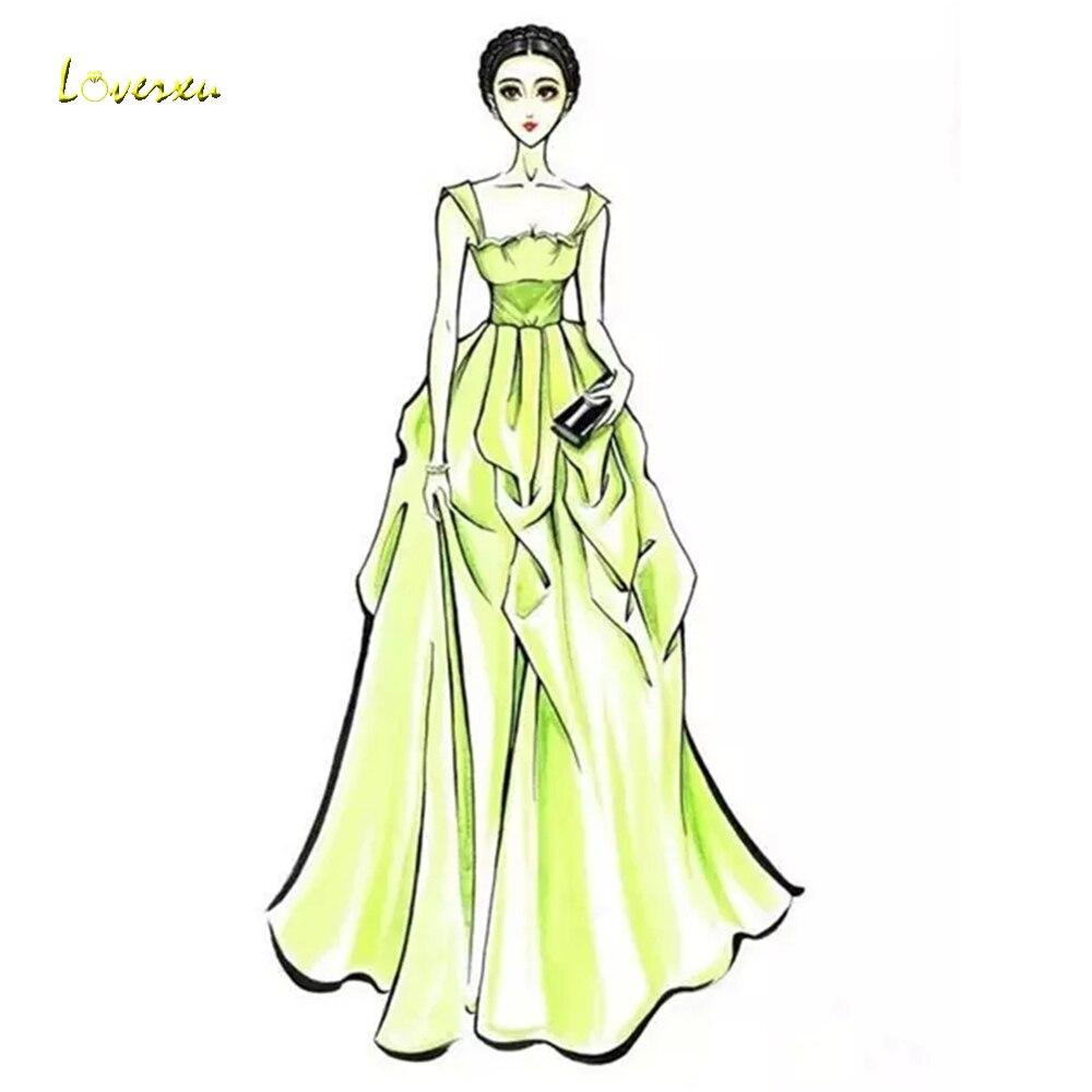 Loverxu lien personnalisé robes de mariée et robes formelles selon la demande du client bienvenue aux Plans à personnaliser