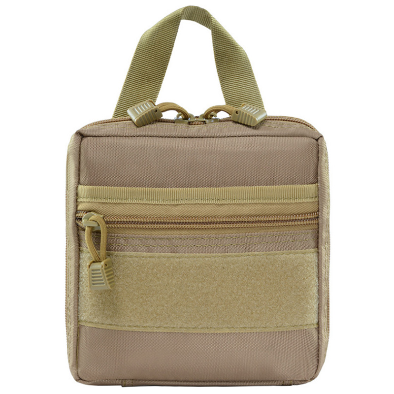 Multifunctional 900D Outdoor Waist Bag Camping Edc Molle Tool Zipper Waist Pack Accessory Durable Belt Pouch