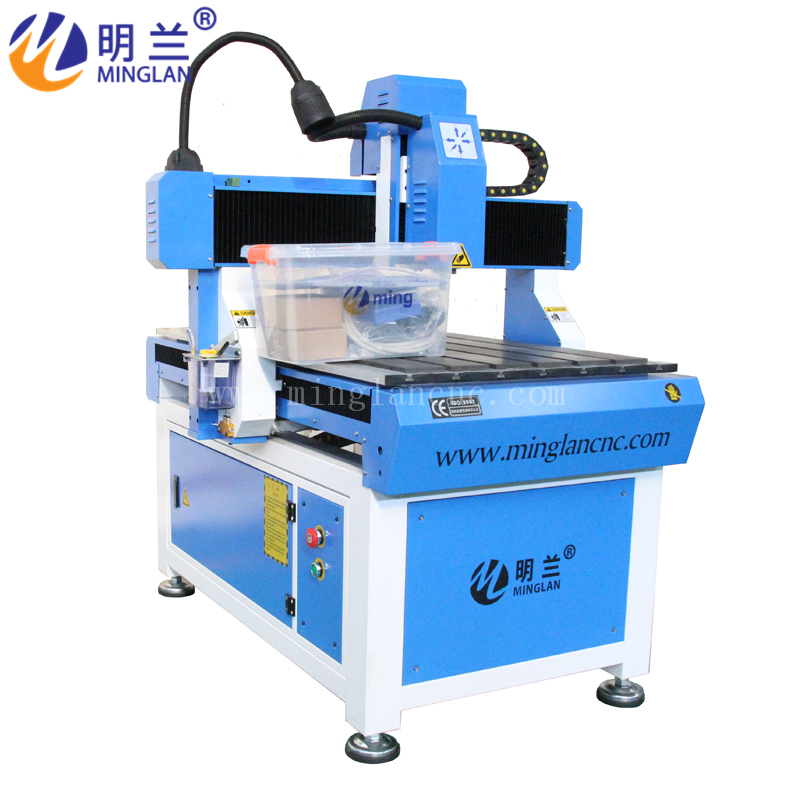 6090 Cnc Router Wood Cutting Machine Voltage 110V 220V Optional 1.5kw China Water Cooling Spindle