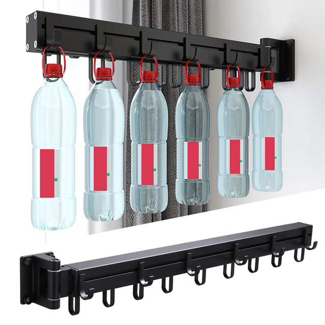 Laundry rack with wall mount 4