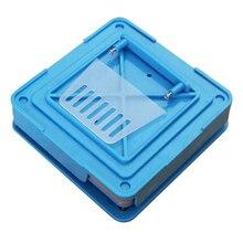 100 отверстий ручная машина для наполнения капсул фармацевтическая доска быстрые диспенсеры инкапсулятор пищевого класса Flate инструмент прочный ABS DIY