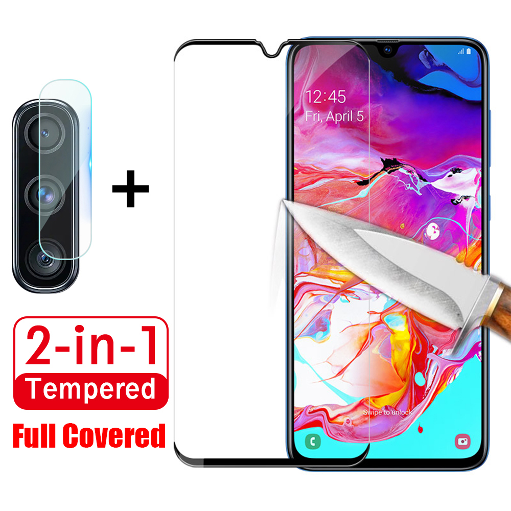 2 in 1Protective Class Tempered Glass For <font><b>Samsung</b></font> <font><b>Galaxy</b></font> <font><b>A20e</b></font> Camera Screen Protector on the For <font><b>Samsung</b></font> A 20e a 20e <font><b>SM</b></font>-<font><b>A202F</b></font> image