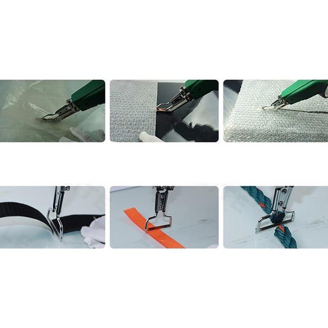 ABSF Hand Hold Heating Knife Cutter Hot Cutter Fabric Foam Rope Electric Cutting Tools Heat Knife Cutter EU Plug