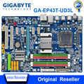GIGABYTE GA-EP43T-UD3L Scheda Madre Desktop P43 Socket LGA 775 EP43T-UD3L DDR3 16G ATX Originale Utilizzato EP43T-UD3L Mainboard