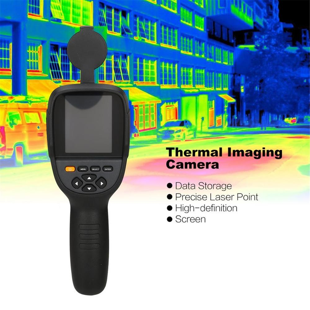 HT-19 Handheld IR Digital Thermal Imager Detector Camera Infrared Temperature Heat With Storage HT-02 HT-02D HT-175 Dropshiping