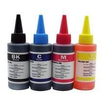 Universal High quality 4 Color Specialized Premium Refill Dye Ink Kit For-Epson Stylus T24TX115 T23 TX105 Inkjet Printer