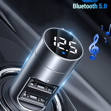 Mp3-Player Car-Kit Modulator Usb-Car-Charger Fm-Transmitter Audio Fm-Radio Handsfree