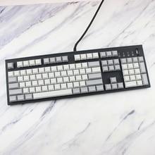 IDOBAO Light Grey White Pbt Blank Dsa Keycaps For Mechanical Keyboard 108 Key Spacebar Motospeed Ck108 Keycap Set Clavier Gamer
