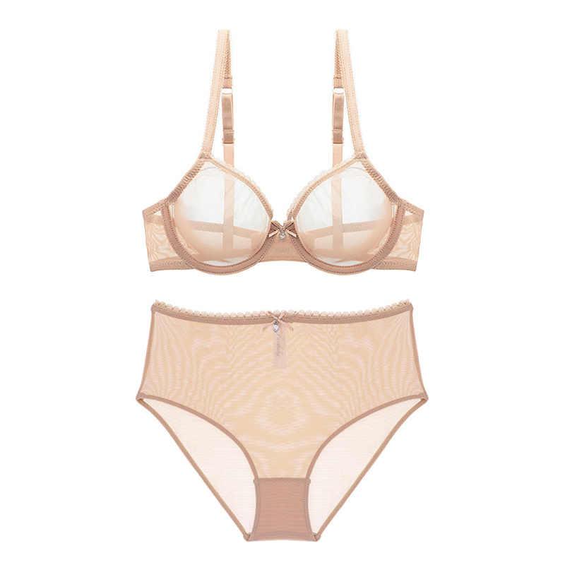Varsbaby сексуальное прозрачное нижнее белье, прозрачные трусы с высокой талией, комплект из бюстгальтера и трусиков
