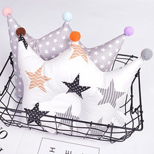 Newborn Baby pillows Head Positioner Infant pillows cartoon Anti-rollover pillow 0-3 months baby Nursing cotton soft YCZ002(China)
