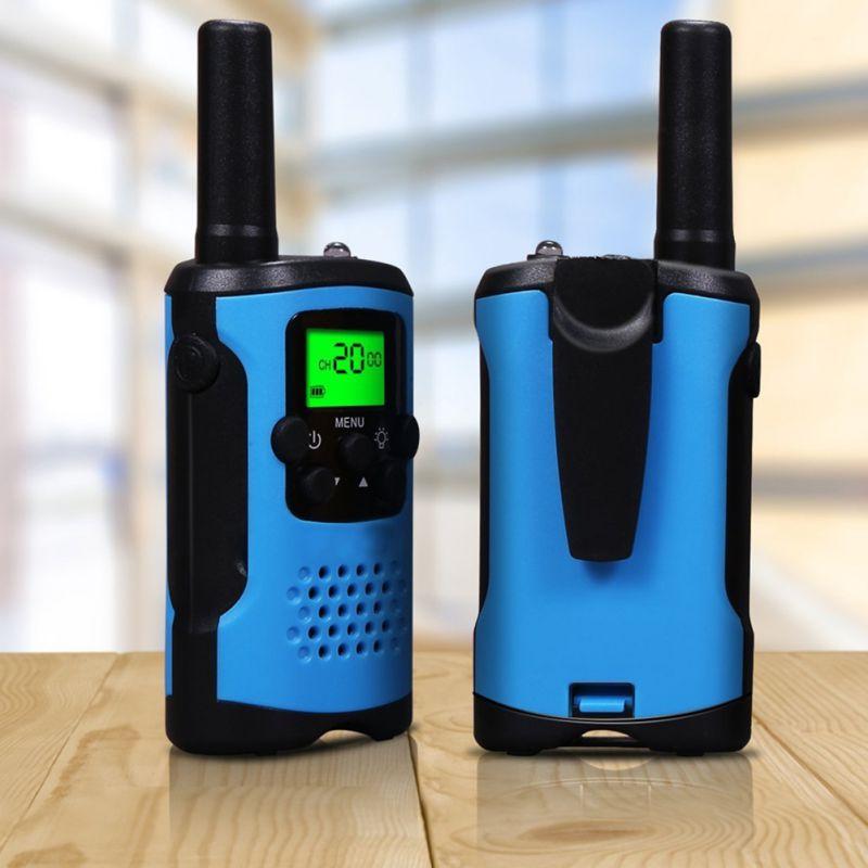 NEW 2Pcs Two Way Radio Kids Walkie Talkie for Motorola Mini children's outdoor self driving walkie talkie Gadget up to 6km
