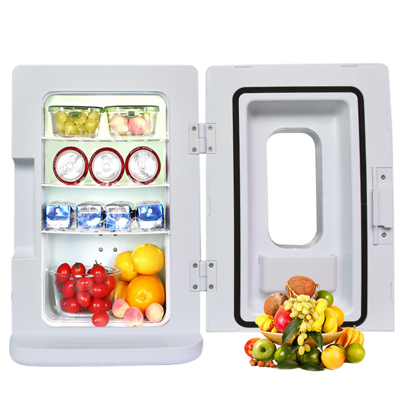 10L Fridge Vehicle Refrigerator 12V Home Refrigeration Tools Small 45W Household Appliances Frozen Home Appliance Tool