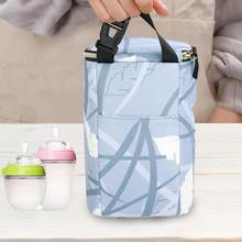 Baby Feeding Milk Bottle Warmer Insulation Bag Milk Warmer Bottle Holder Bag Baby Bottle Thermal Bottle Hanging Bag For Stroller(China)