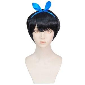 Аниме Kanojo Okarishimasu Ruka Sarashina Косплей парики волосы + повязка на голову костюм