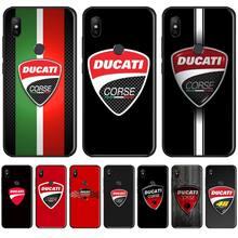 Ducati Corse Logo Phone Case Cover For Xiaomi Mi A1 A2 5 6 6PLUS 8 9 SE Lite MIX 2 2S MAX 2 3 Pocophone F1 lavaza comic schwarz punisher anime hard phone cover for xiaomi mi 8 a2 lite 9 se a1 max 3 f1 for redmi 7 go case