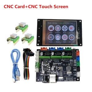 GRBL 1.1 OFF-LINE CNC shield control plate MKS DLC V2.0 + TFT32 CNC display DIY parts cnc laser controller expansion monitor