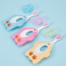 Cute Cartoon Soft-bristled Toothbrush for Baby Kids Children Practical Teeth Training Mouth Clean Lovely Cleaning Toothbrushes