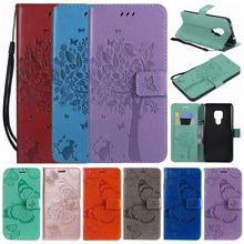 Butterfly Cat Tree Book Cases For iPhone 8 7 6 6S Plus for Frame apple iPhone 6 6S 7 8 Plus Leather Phone Bags Pure Color DP06Z interstep frame чехол для apple iphone 6 plus 6s plus titanium