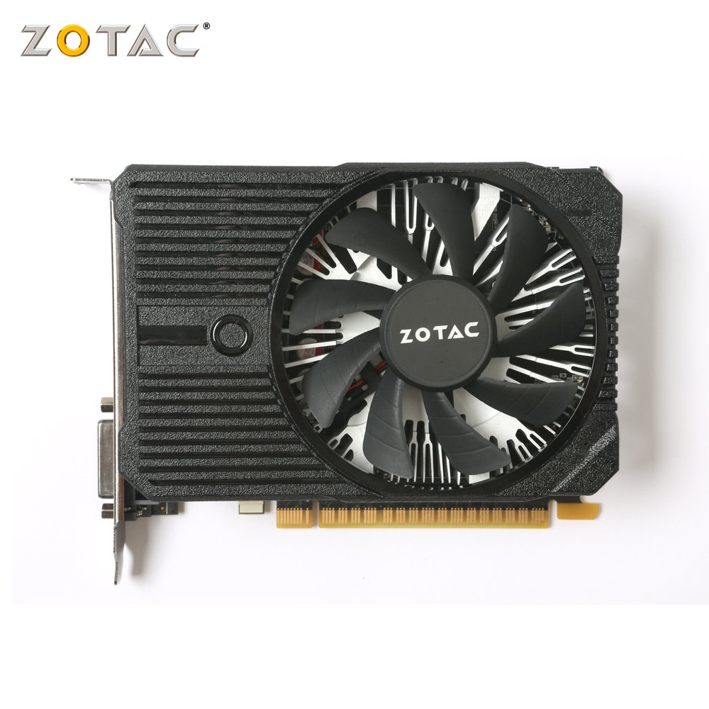 ZOTAC graphic card <font><b>gtx</b></font> 1050 mini 4gb GDDR5 128-Bit HDMI gaming pc <font><b>gtx</b></font> <font><b>1050ti</b></font> used video card image