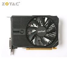 Zotac placa gráfica gtx 1050 mini 4gb, gddr5 128 bit hdmi, gaming pc gtx 1050ti placa de vídeo usado