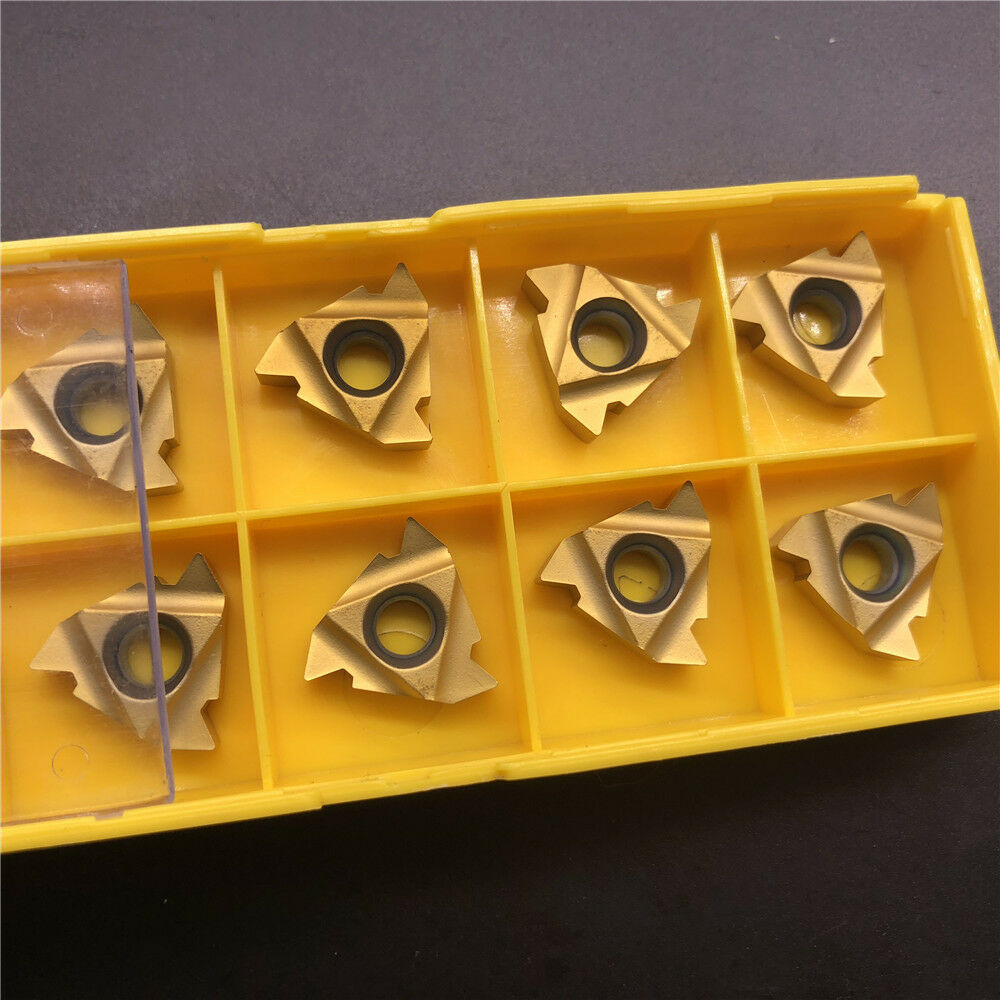 10 Pcs MMT 22IR N60 US735 High Quality Machining Lathe CNC Carbide Inserts Tool  Threaded Blade
