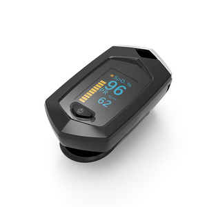 Image 2 - אצבע דופק Oximeter SpO2 דופק חיישן חמצן בדם רוויה צג עם תיק נשיאה ושרוך ליתיום סוללה