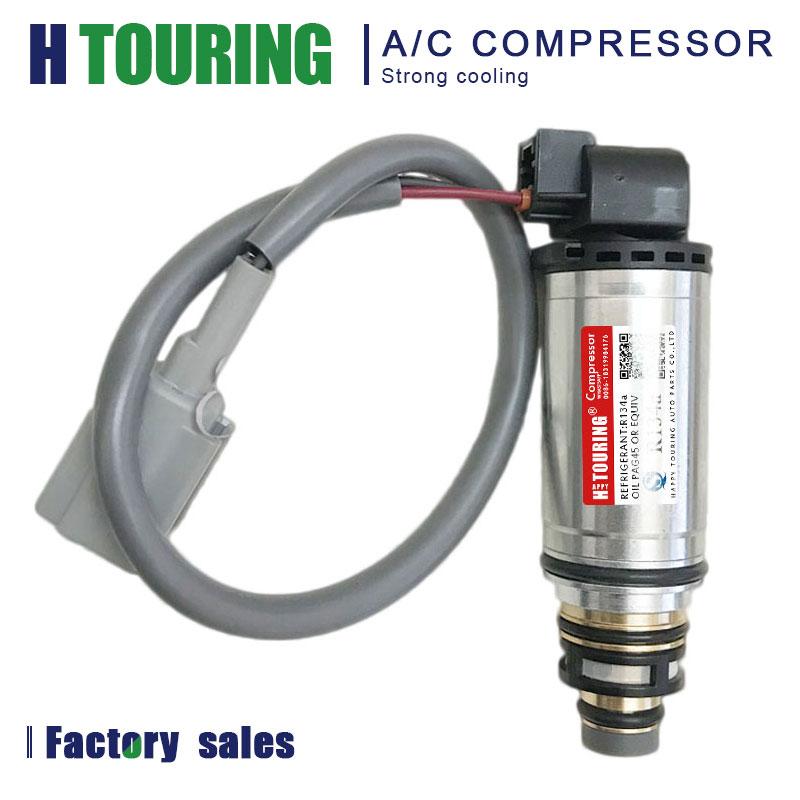 For Renault Clio CAPTUR 926004183R 926000217r VCS14EC Air Conditioning A/C Electric Compressor Electronic Solenoid Control Valve