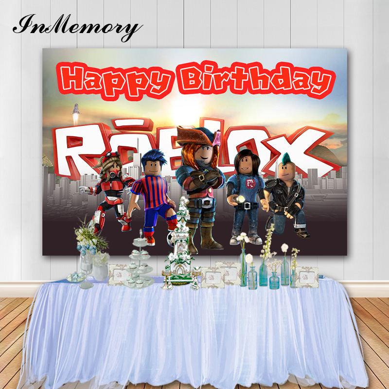 Roblox Decorations For Birthday Party
