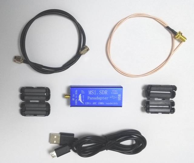 Msi. sdr 10 Khz a 2 Ghz Panadapter Panoramica Spettro Modulo Set Vhf Uhf Lf Hf Compatibile Sdrplay RSP1 Tcxo 0.5ppm