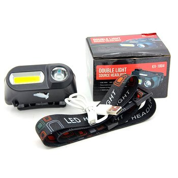 Cob Outdoor Emergency Flashlight 18650 Battery Multi-function Lighting Night Travel Lights Convenient Emergency Lights