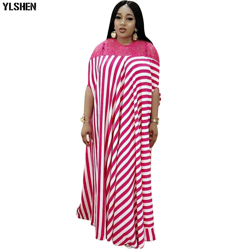 New African Dresses For Women Print Dashiki Summer Plus Size Traditional Africa Clothing African Dress For Lady Fairy Dreams
