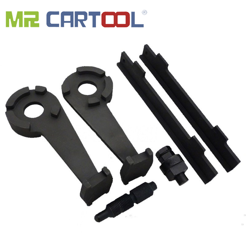 MR CARTOOL T40047 T40046 T3242 T40058 Camshaft Crankshaft Alignment Tool Set For VW AUDI A6 A8 4.2L V8 40V Special Timing Tool