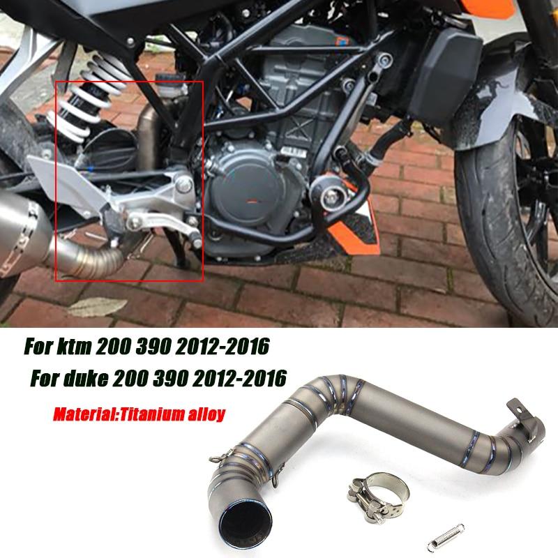 Выхлопная система для мотоцикла ktm 200 390 duke 2012 2016 с