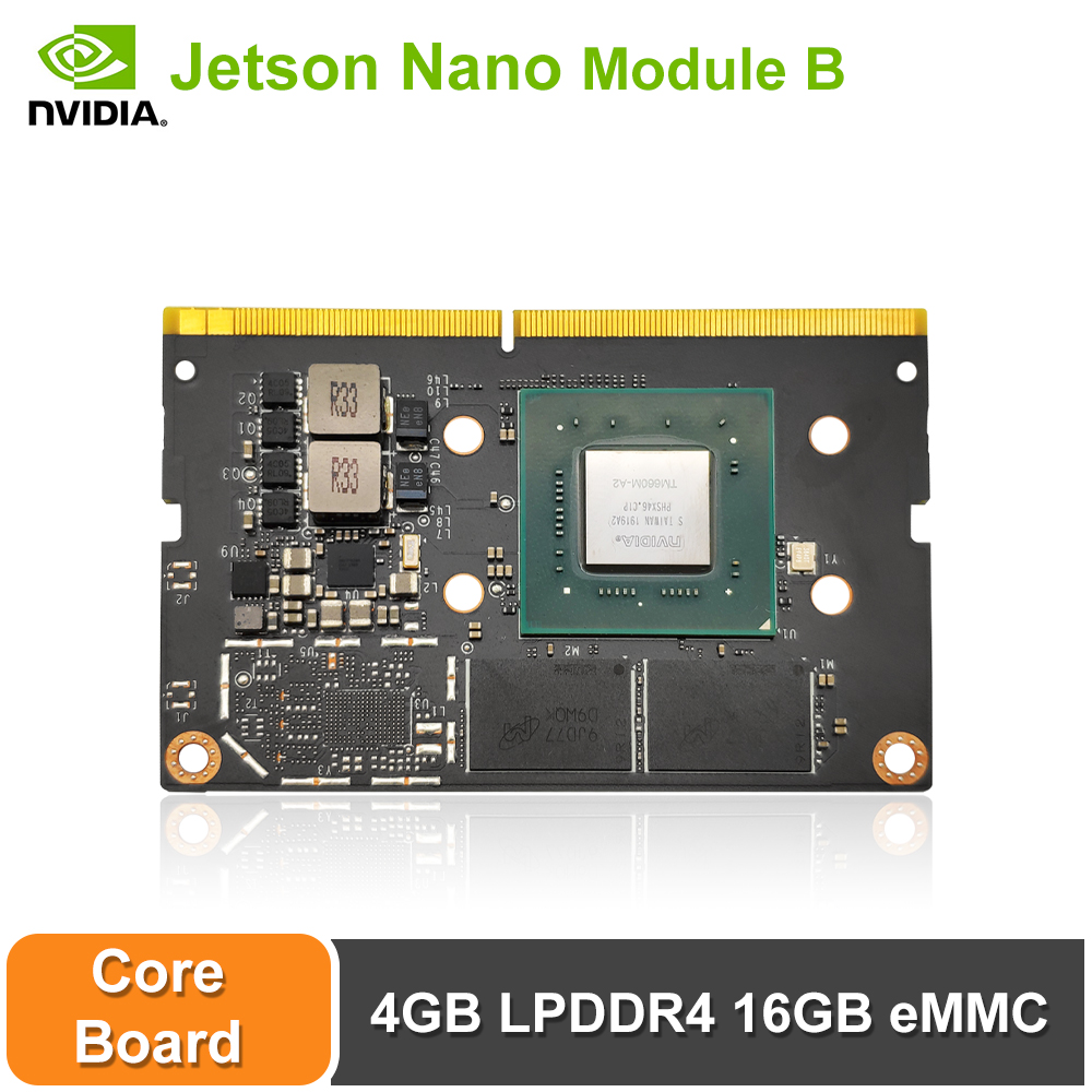NVIDIA  Jetson Nano Module B 4GB LPDDR4 16GB EMMC Artiticial Intelligence Deep Learning AI Computing,Support PyTorch, TensorFlow