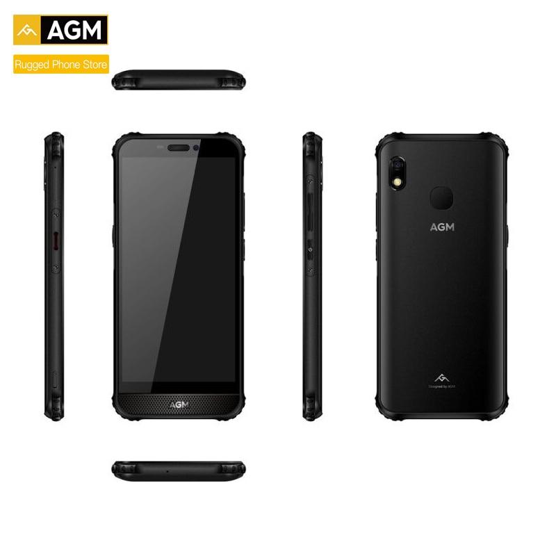Полнофункциональный AGM A10 IP68 NFC водонепроницаемый прочный телефон 6G 128G Adnroid9 4G lTE 5,7 ''HD + смартфон