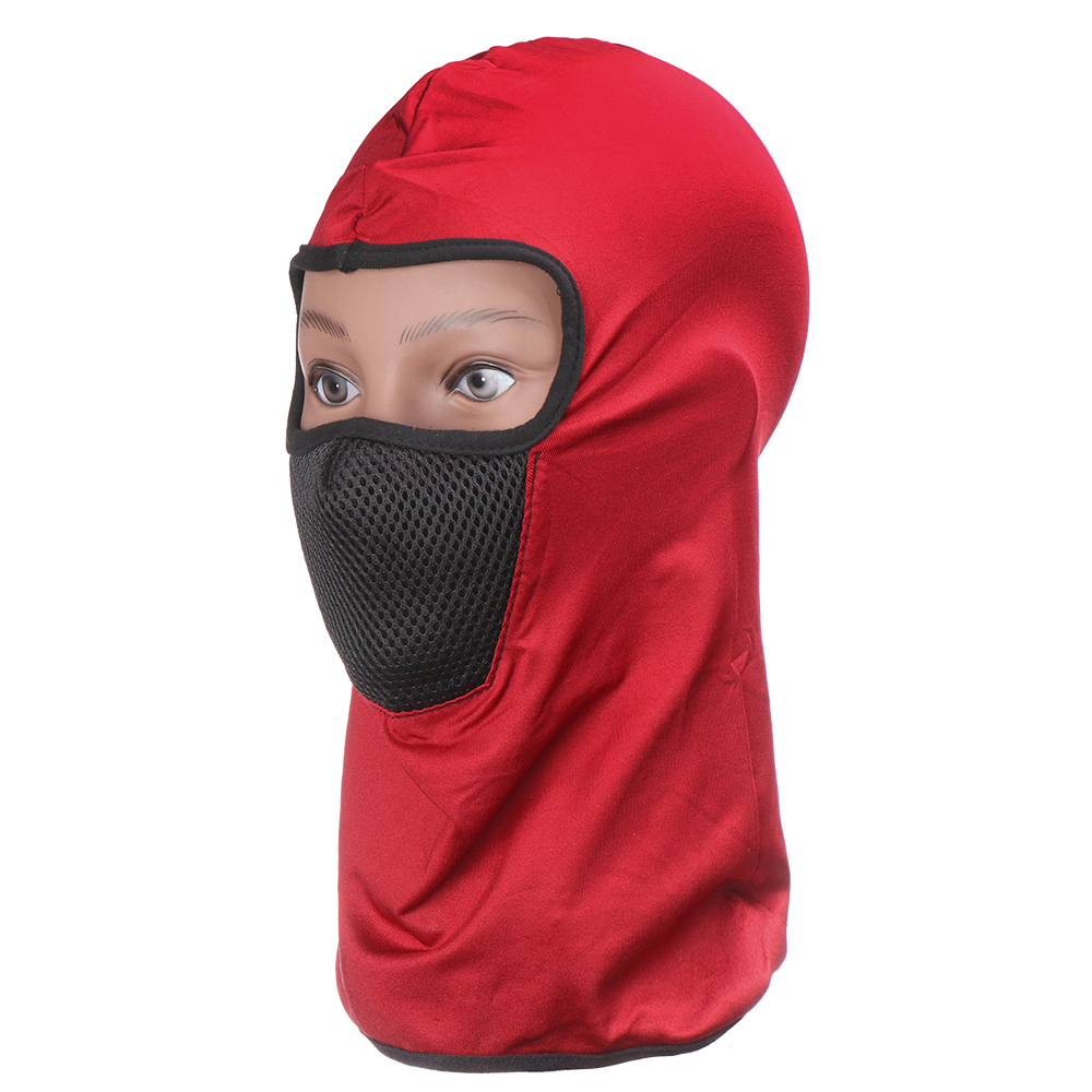 1PC Unisex Breathable Heat Winter Warm Hat Windproof Motorcycle Face Mask Hat Fashion Sports Bicycle Balaclava Camouflage Cap