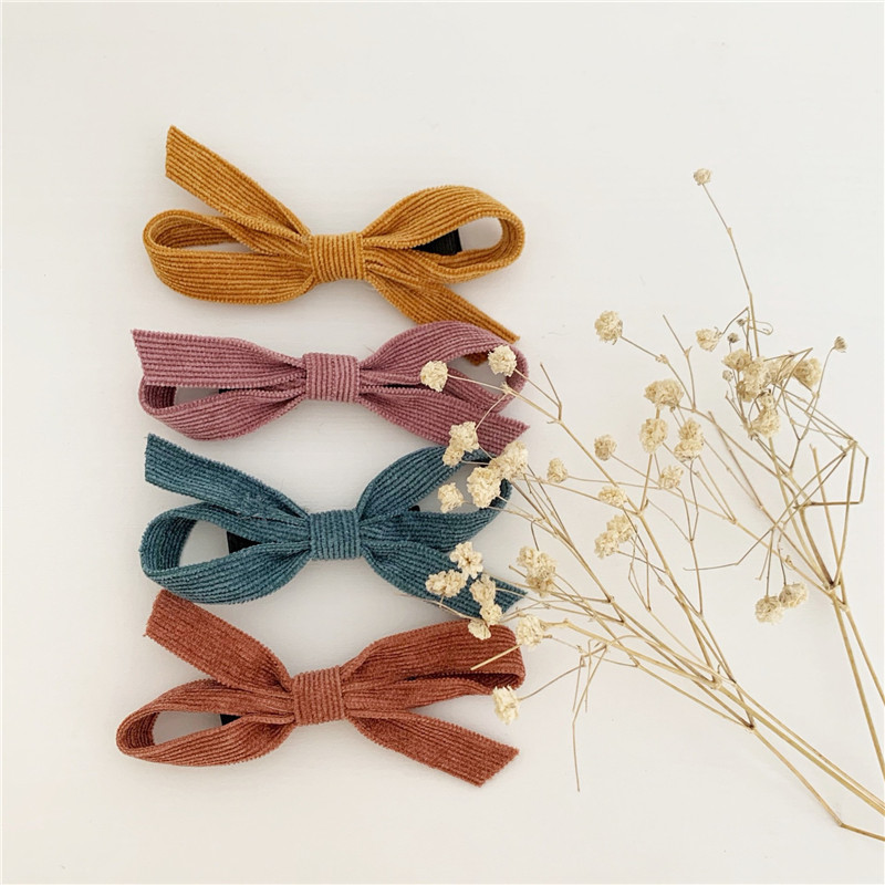 EnkeliBB Beautiful Girl Hair Clips Hand Made Children Bow Tie Hairclip Baby Girls Nice Hair Accessory Kids All Accessories