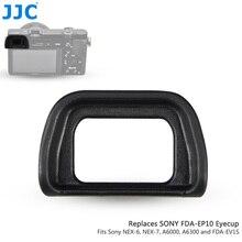 Jjcソフト接眼カップソニーA6300 A6100 A6000 NEX 6 NEX 7 置き換えFDA EP10 アイカップデジタル一眼レフFDA EV1S電子ビューファインダー
